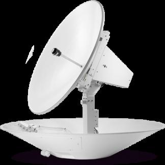 Intellian t130 — антенна для приёма спутникового ТВ диаметром 125 см, 3-х осевая